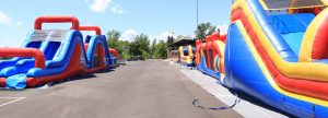 Inflatables at Prasco Park